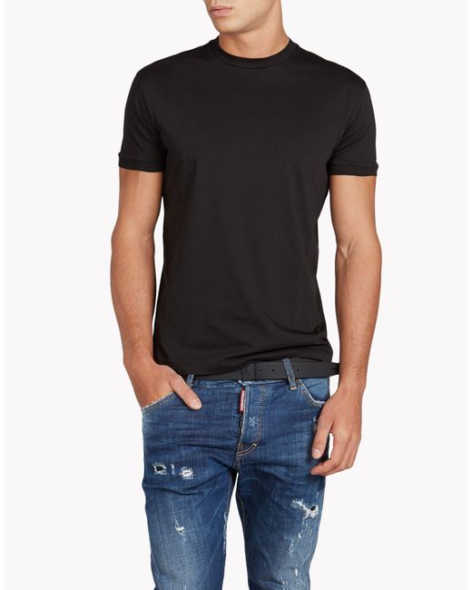 DSquared² | Black Dan T-shirt for Men | Lyst