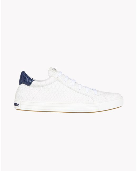 DSquared² | White Tennis Club Sneakers for Men | Lyst