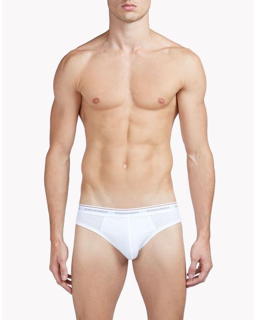 DSquared² | White Briefs for Men | Lyst