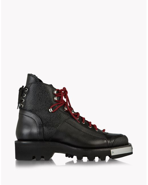 DSquared² | Black Trekking Combat Boots for Men | Lyst