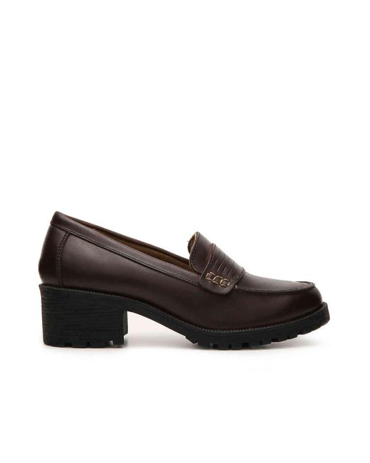 4192a91a903 Lyst - Eastland Newbury Penny Loafer in Brown - Save 23%