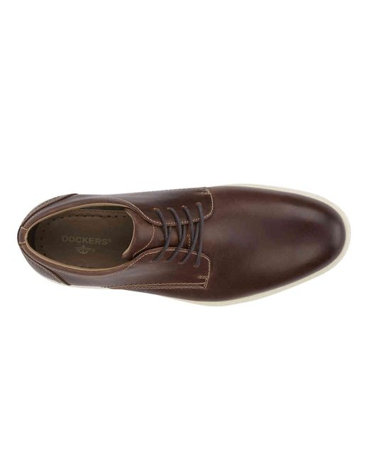 4c7a37197b78c3 Lyst - Dockers Parkview Oxford in Brown for Men - Save 14%