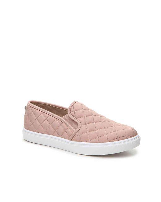 02a300b213b Steve Madden - Pink Ecentrcq Slip-on Sneaker - Lyst ...