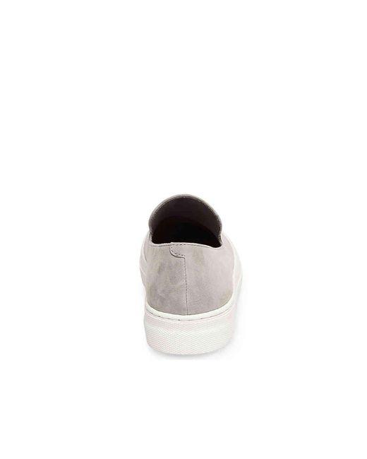 1046ceb7f34 ... Steven by Steve Madden - Gray Arden Slip-on Sneaker - Lyst ...
