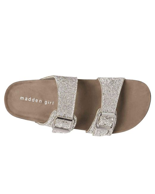 65b16f5e5064 ... Madden Girl - Metallic Brando Sandal - Lyst ...
