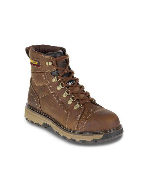ba7596afeee Men's Brown Granger Steel Toe Work Boot