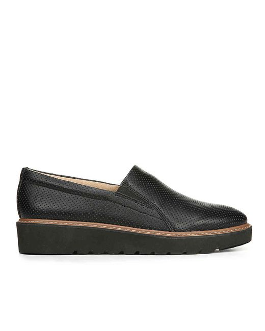 4d418ed08a1 ... Naturalizer - Black Effie Wedge Loafer - Lyst ...