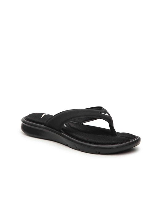 1dbadf439257 Lyst - Nike Ultra Comfort Sandal in Black - Save 38%