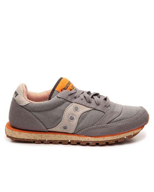 online retailer b64ad d2180 Men's Gray Jazz Low Pro Vegan Retro Sneaker