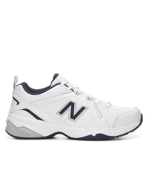 1aef4aefe9e0 ... New Balance - White 608 V4 Training Shoe for Men - Lyst ...
