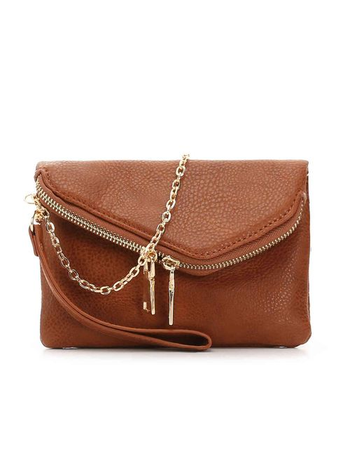 Urban Expressions - Brown Lucy Crossbody Bag - Lyst ... 5290e84b36a86