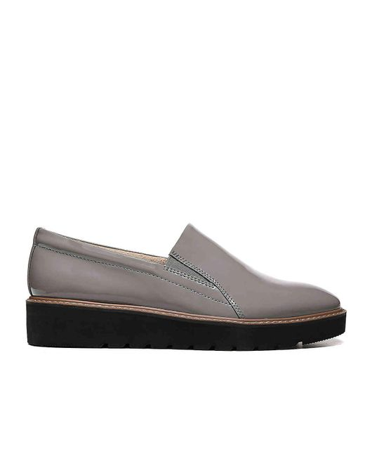 972d1b6c8f9 ... Naturalizer - Gray Effie Wedge Loafer - Lyst ...