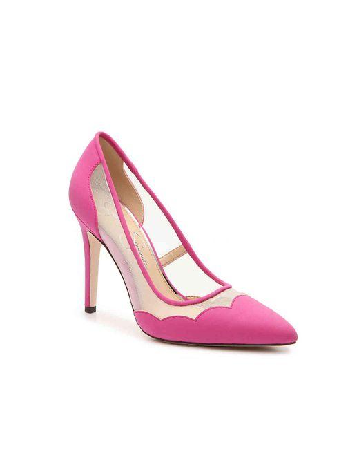 01efff09530 Lyst - Jessica Simpson Pescanta Pump in Pink