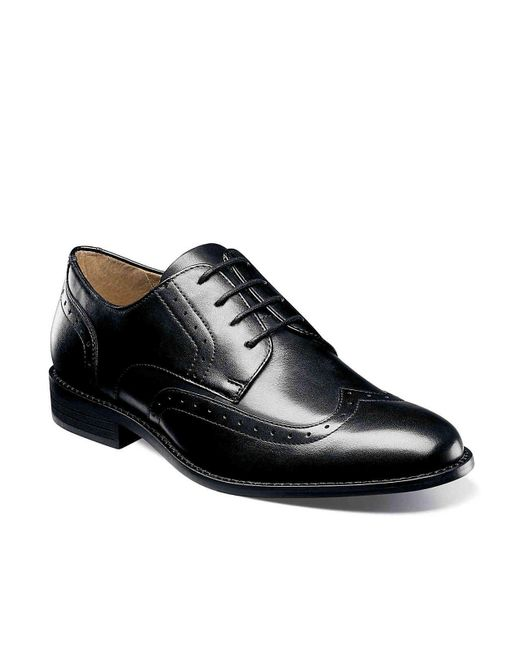 Nunn Bush - Black Slate Wingtip Oxford for Men - Lyst