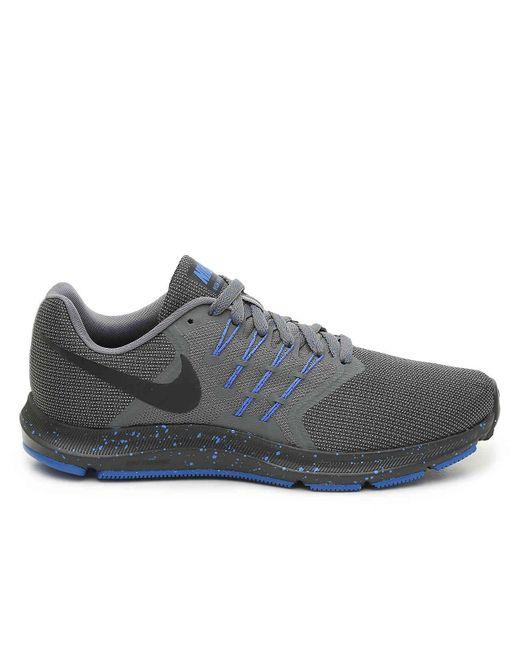 ea69dc28f4d7c ... Nike - Gray Run Swift 4e Running Shoe for Men - Lyst ...