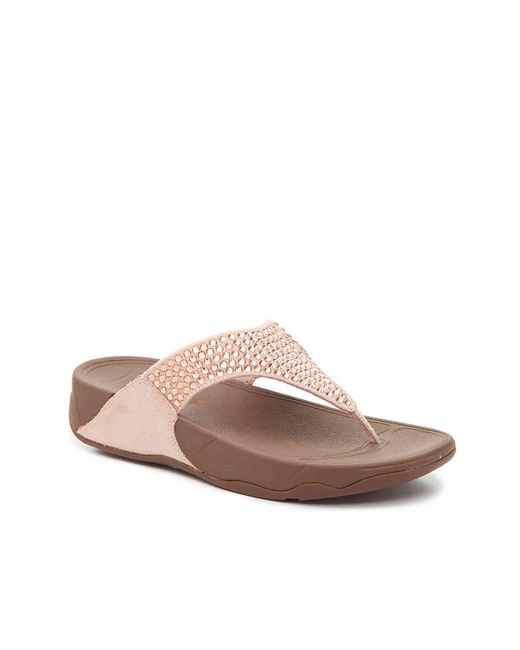 Fitflop - Multicolor Glitzie Wedge Sandal - Lyst