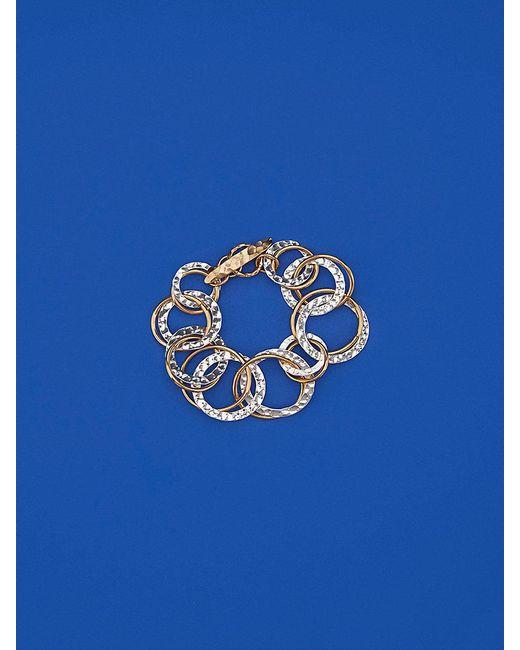 Diane von Furstenberg - Blue Multi-ring Bracelet - Lyst