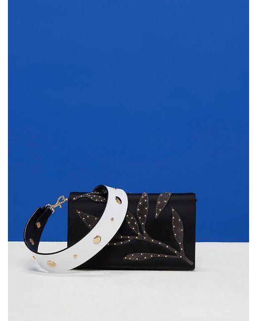 Diane von Furstenberg   Black Mini Soirée Crossbody Bag   Lyst