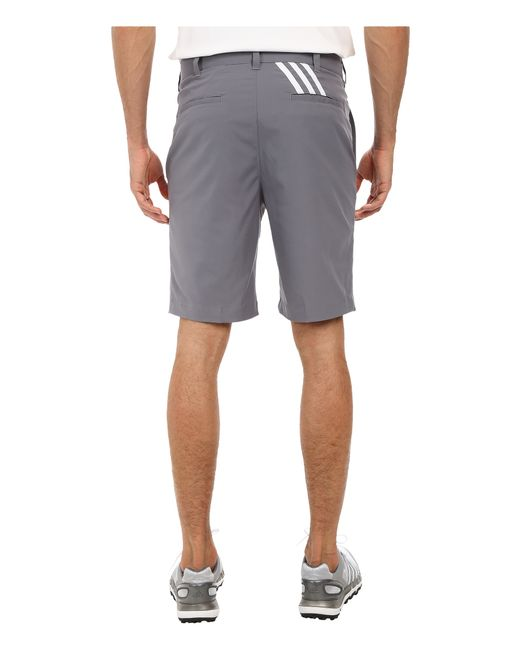 Adidas Originals | Gray Puremotion Stretch 3 Stripes Short for Men | Lyst