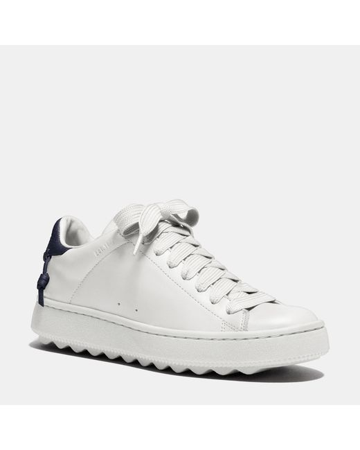 COACH | White Leather C101 Low Top Sneaker | Lyst