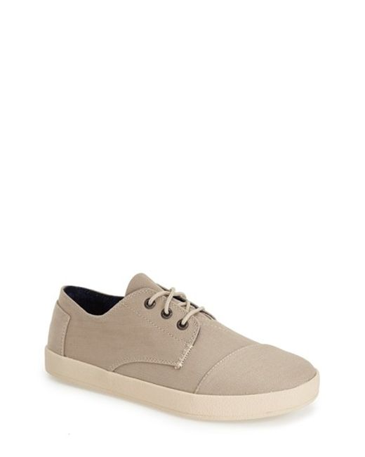 TOMS | Brown 'paseo' Sneaker for Men | Lyst