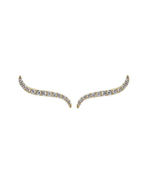 Anita Ko | Pink Wave Earrings | Lyst