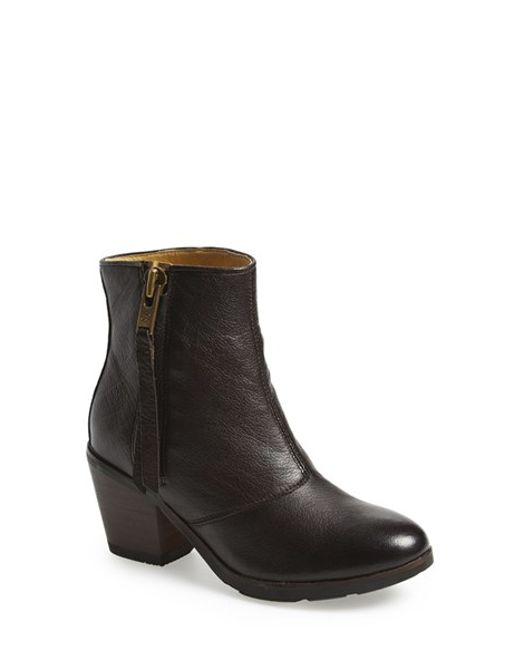 Bussola | Black 'reed' Ankle Boot | Lyst