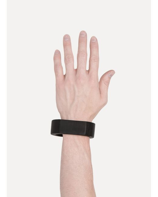 Parts Of 4 | Black Crescent Plane Bracelet for Men | Lyst