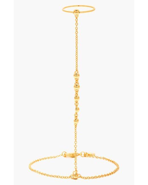 Gorjana | Metallic 'bali' Hand Chain | Lyst