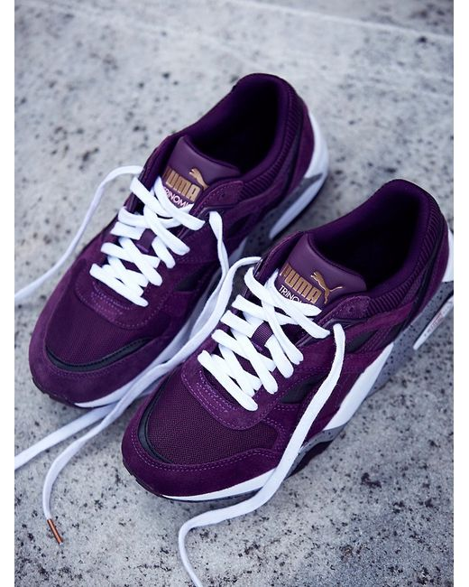 Free People | Purple Charlie Hi Top Converse | Lyst