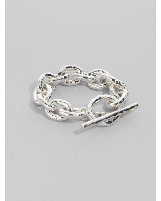 Ippolita   Metallic Glamazon Sterling Silver Bastille Link Bracelet   Lyst