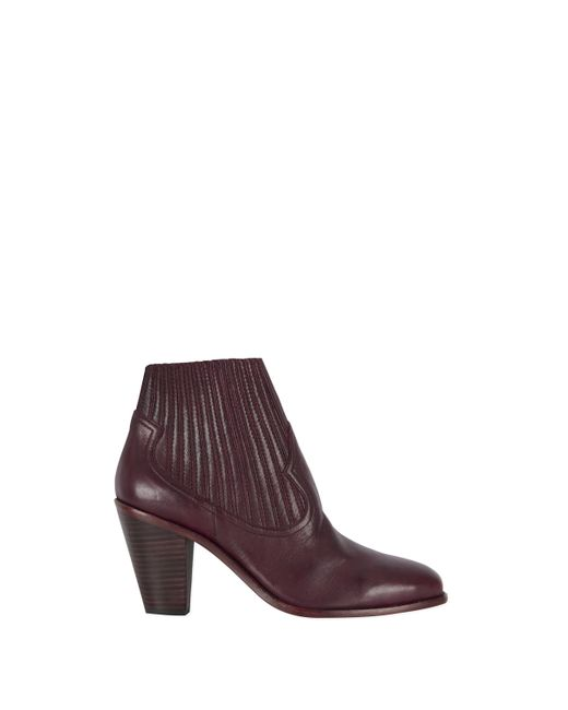Baukjen | Purple Ash Leather Ilona Ankle Boot | Lyst