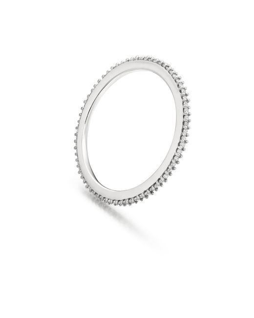Monica Vinader | Metallic Skinny Eternity Ring | Lyst