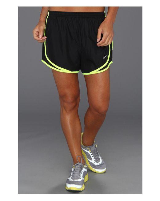 "Nike | Black Dri-fit™ Tempo Track 3.5"" Short | Lyst"