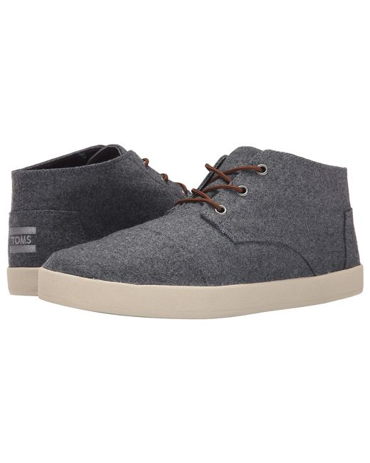 TOMS | Gray Paseo Mid Sneaker for Men | Lyst