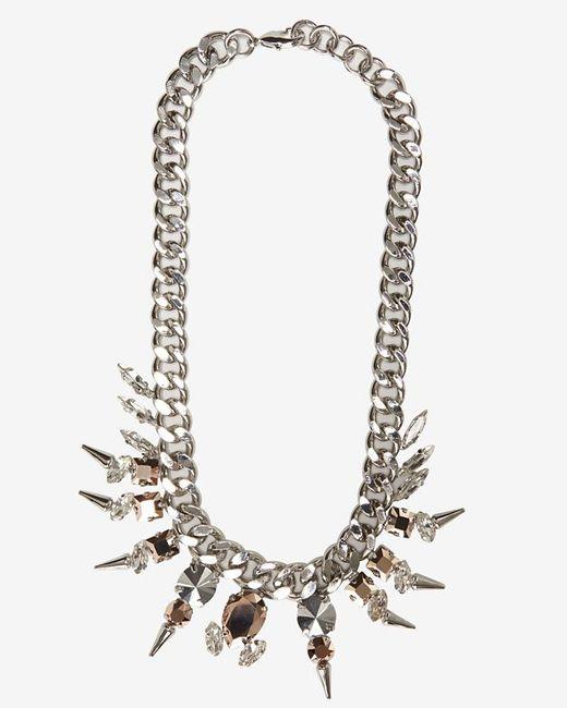Fallon | Metallic Exclusive Classique Chain Necklace | Lyst