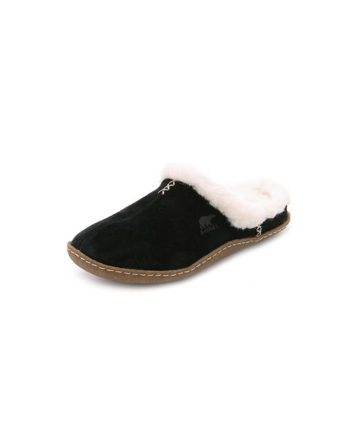 Sorel | Black Nakiska Slide Slippers | Lyst