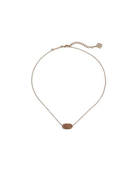 Kendra Scott | Pink Elisa Necklace | Lyst