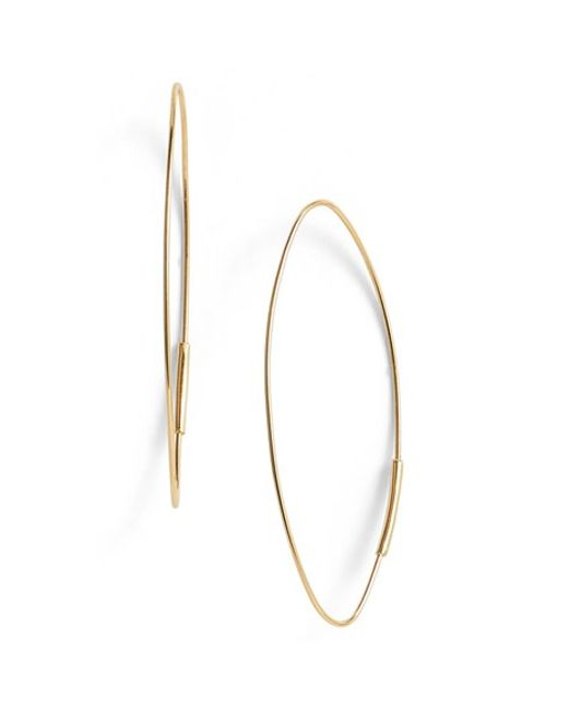 Lana Jewelry | Yellow 'magic' Small Oval Hoop Earrings | Lyst