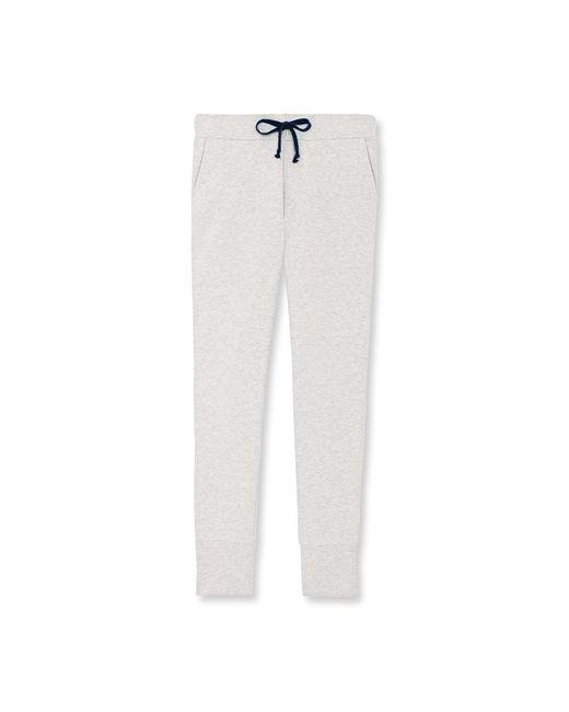 Petit Bateau | White Women's Cotton Fleece Pants | Lyst
