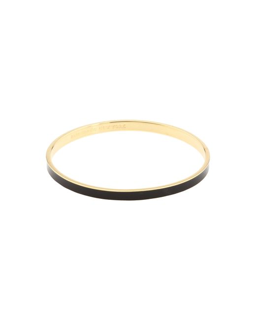 kate spade new york | Black Draw The Line Idiom Bangle | Lyst