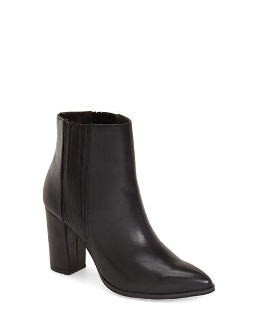 Seychelles | Black 'accordian' Bootie (women) | Lyst