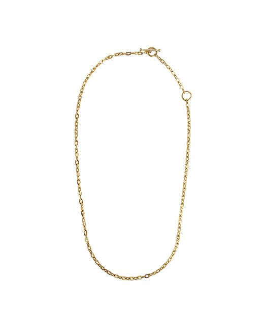 Annie Fensterstock | Metallic Adjustable Oval Link Necklace | Lyst