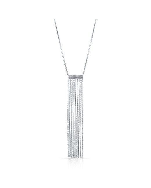 Anne Sisteron - Metallic 14kt White Gold Diamond Temptress Necklace - Lyst