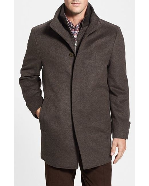 Cardinal Of Canada   Brown Wool Jacket for Men   Lyst