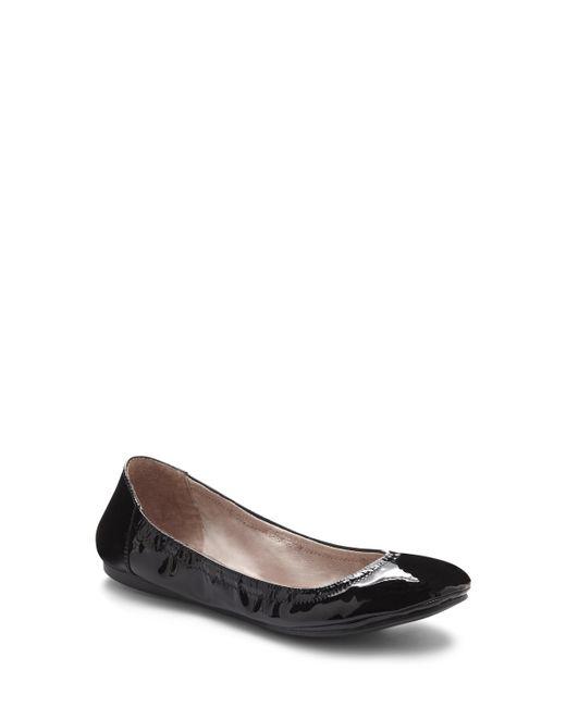 Vince Camuto   Black Ellen – Round-toe Ballet Flat   Lyst