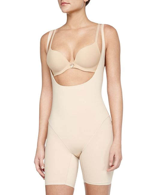 Wacoal | Natural Smooth Complexion Open-bust Mid-thigh Shaper | Lyst