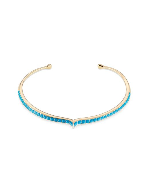Aurelie Bidermann | Purple Aurélie Bidermann Apache Lacquered Choker - Gold | Lyst