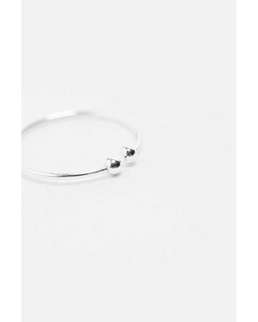 Urban Outfitters | Metallic Delicate Silver Fake Nose Ring | Lyst