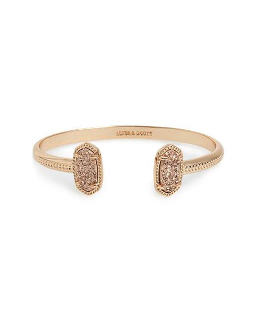 Kendra Scott | Pink 'elton' Station Cuff Bracelet | Lyst